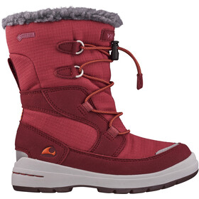Viking Footwear Totak GTX Botas Invierno Niños, dark red/red